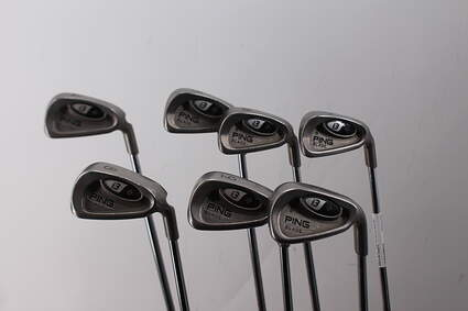 Ping i3 + Iron Set 4-PW Stock Steel Shaft Steel Regular Right Handed Blue Dot 38.25in