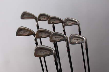 Ben Hogan Edge GCD Iron Set 2-PW Stock Graphite Shaft Steel Stiff Right Handed 38.25in