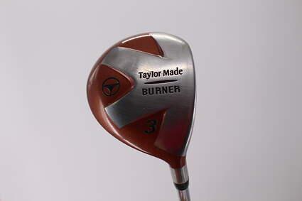 TaylorMade 1998 Burner Fairway Wood 3 Wood 3W Stock Steel Shaft Graphite Stiff Right Handed 42.25in