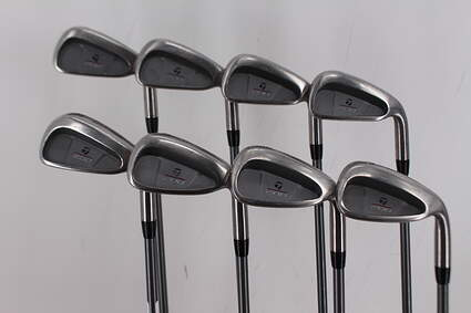TaylorMade 200 Steel Iron Set 3-PW Stock Graphite Shaft Graphite Regular Right Handed 38.25in