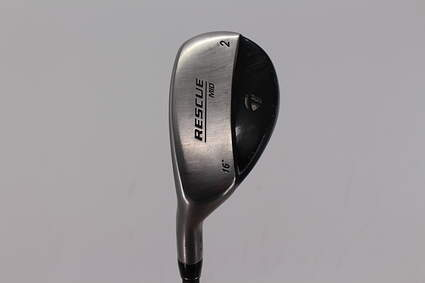 TaylorMade Rescue Mid Hybrid 2 Hybrid 16° Stock Graphite Shaft Graphite Stiff Left Handed 41.0in