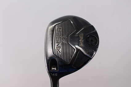 Ping Anser Fairway Wood 3 Wood 3W 14.5° Ping TFC 800F Graphite Stiff Left Handed 42.75in