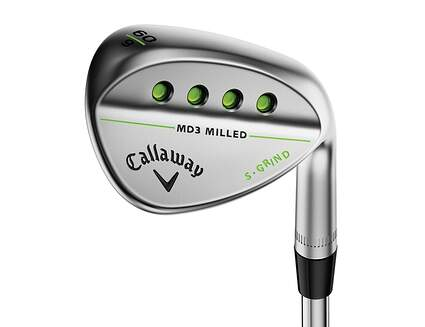 Callaway MD3 Milled Chrome S-Grind Wedge