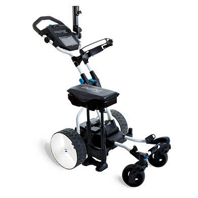 Bag Boy Navigator Quad Electric Push and Pull Cart