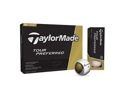 TaylorMade 2016 Tour Preferred Dozen Golf Balls