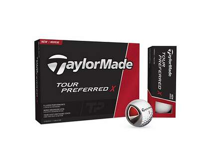 TaylorMade 2016 Tour Preferred X Dozen Golf Balls