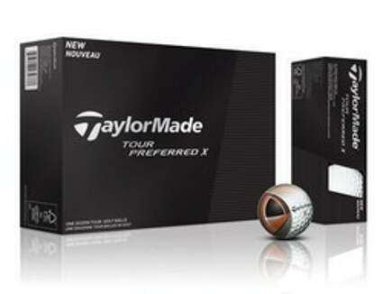 TaylorMade Tour Preferred X Dozen Golf Balls
