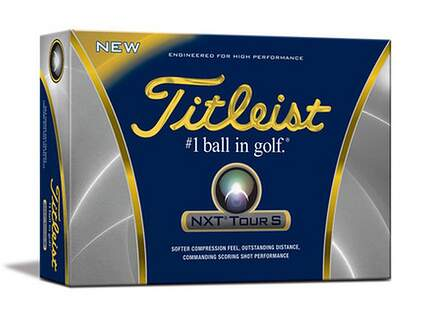 Titleist NXT Tour S Dozen Golf Balls