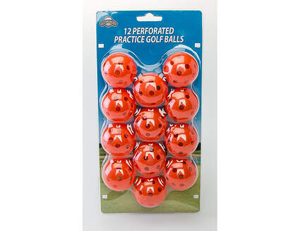 OnCourse Perforated Practice Golf Balls