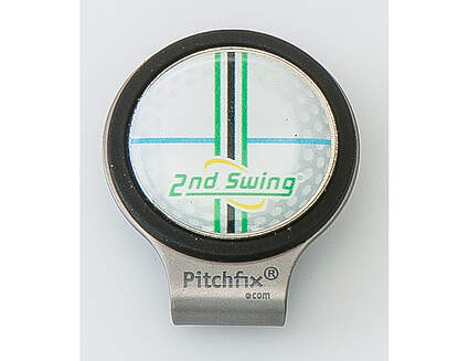 PitchFix Hat Clip with Ball Mark