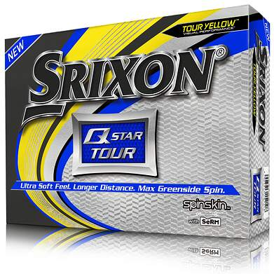 Srixon Q Star Tour 3 Yellow Golf Balls