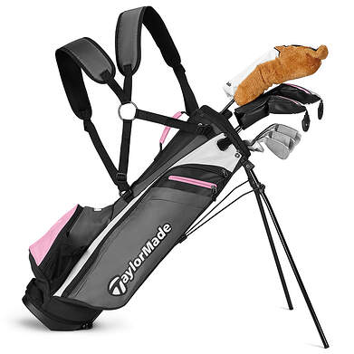 TaylorMade Rory Girls 8 Piece Complete Golf Club Set