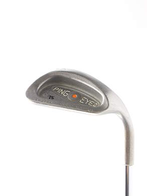 Ping Eye 2 + Wedge Sand SW Stock Steel Shaft Steel Stiff Right Handed Orange Dot 35.5 in