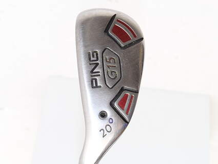 Ping G15 Hybrid 3 Hybrid 20* Aldila Serrano 85 Hybrid Graphite Regular Left Handed Purple dot 39.25 in