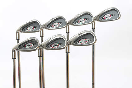 Callaway 2002 Big Bertha Iron Set 4-PW Callaway Big Bertha Steel Steel Uniflex Right Handed 39 in