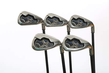 Callaway X-18 Pro Series Iron Set 6-PW Callaway RCH 75i Graphite Regular Right Handed 38.5 in
