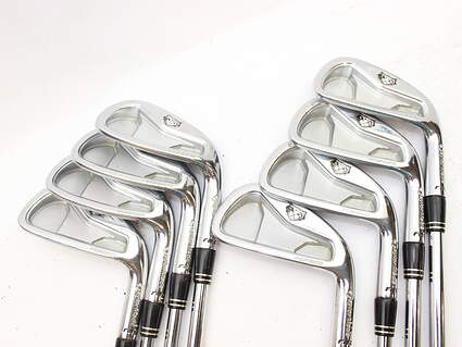 TaylorMade Rac Forged CB TP Iron Set 3-PW Stock Steel Shaft Steel Stiff Right Handed