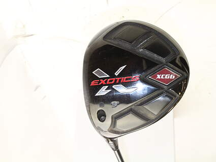 Tour Edge Exotics XCG5 Driver 9* Exotics Matrix Ozik HD 6.1 Graphite Stiff Left Handed 45.5 in
