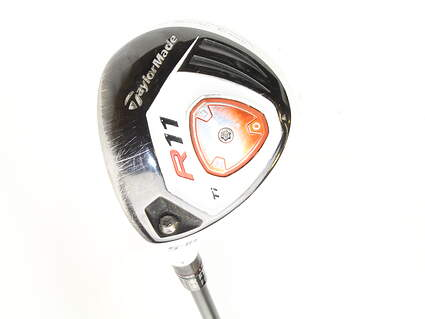 TaylorMade R11 Titanium Fairway Wood 5 Wood 5W 18* TM Fujikura Blur 60 Graphite Regular Left Handed 43 in