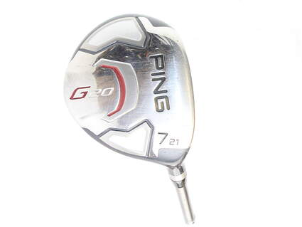 Ping G20 Fairway Wood 7 Wood 7W 21* Ping TFC 169F Graphite Ladies Right Handed 41.5 in