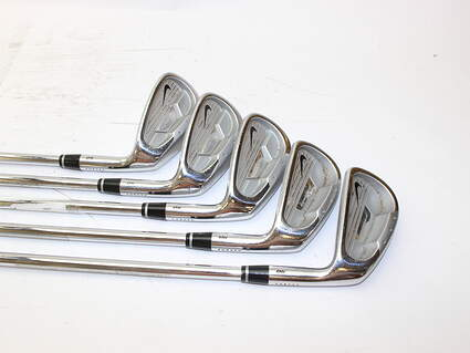 Nike Forged Pro Combo OS Iron Set 6-PW Stock Steel Shaft Steel Regular Right Handed 37.5 in