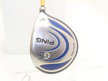 Ping G5 Fairway Wood 3 Wood 3W 15* Stock Graphite Shaft Graphite Stiff Right Handed 43 in