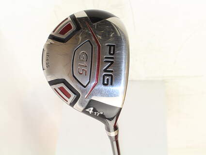 Ping G15 Draw Fairway Wood 4 Wood 4W 17* Grafalloy ProLaunch Red FW Graphite Stiff Right Handed 43 in