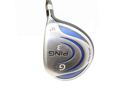 Ping G5 Fairway Wood 3 Wood 3W 15* Aldila NVS 75 Graphite Right Handed 43 in