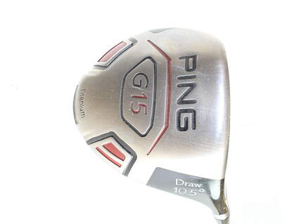 Ping G15 Draw Driver 10.5* Ping TFC 149D Graphite Soft Regular Right Handed 45.5 in