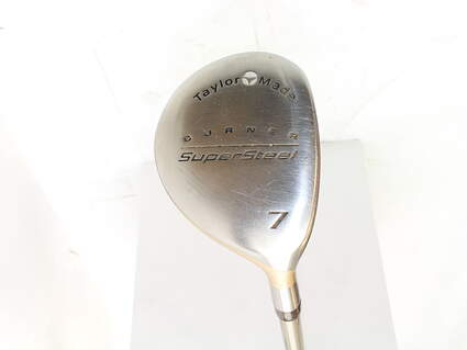 TaylorMade Supersteel Fairway Wood 7 Wood 7W Stock Graphite Shaft Graphite Ladies Right Handed 40 in