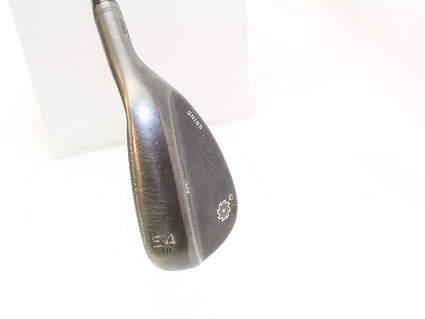 Titleist Vokey SM5 Raw Black Wedge Gap GW 54* 10 Deg Bounce S Grind Titleist SM5 BV Steel Wedge Flex Right Handed 35.5 in