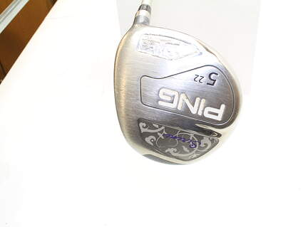Ping Serene Fairway Wood 5 Wood 5W 22* Ping ULT 210 Ladies Lite Graphite Ladies Right Handed 41.75 in