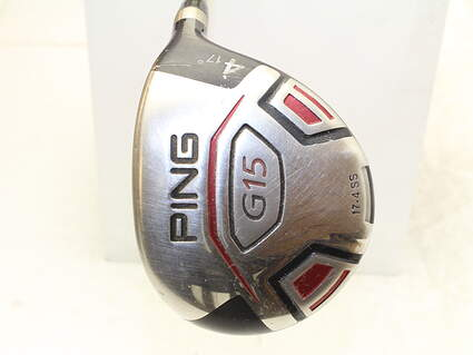 Ping G15 Draw Fairway Wood 4 Wood 4W 17* Aldila NVS 55 Graphite Regular Right Handed 42.5 in