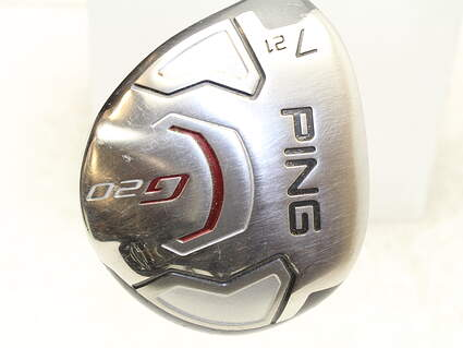 Ping G20 Fairway Wood 7 Wood 7W 21* Ping TFC 169F Graphite Regular Left Handed 41.5 in