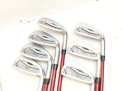 Ping S56 Iron Set 4-PW Ping TFC 149I Graphite Regular Right Handed 38 in