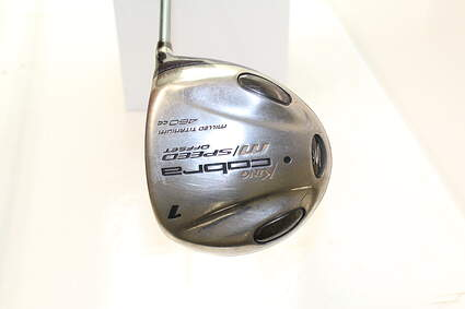 Cobra M Speed Offset Womens Driver Stock Graphite Shaft Graphite Ladies Right Handed 45 in