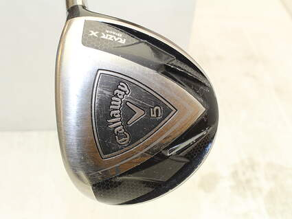 Callaway Razr X Black Fairway Wood 5 Wood 5W Callaway Razr X Black Fairway Graphite Ladies Right Handed 41.5 in
