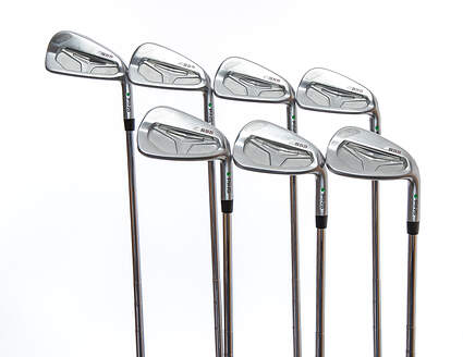 Ping S55 Iron Set 4-PW Ping CFS Steel Stiff Right Handed Green Dot 37.5in