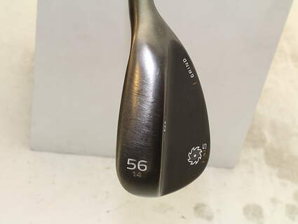 Titleist Vokey SM5 Raw Black Wedge Sand SW 56* 14 Deg Bounce F Grind Titleist SM5 BV Steel Wedge Flex Right Handed 35 in