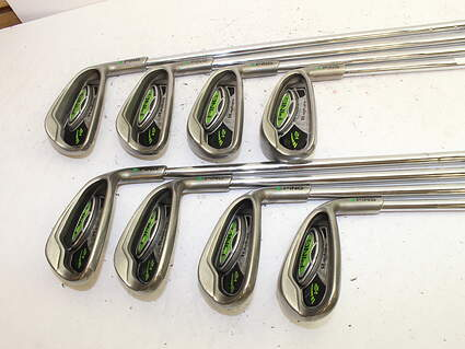 Ping Rapture V2 Iron Set 5-PW GW SW Ping AWT Steel Regular Right Handed Green Dot 37.5in