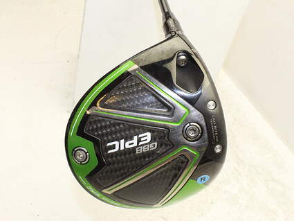 Callaway GBB Epic Sub Zero Driver 9* Project X HZRDUS T800 Green 55 Graphite Regular Left Handed 45 in