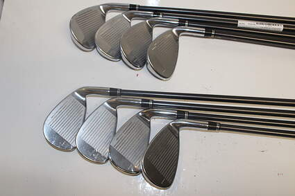 TaylorMade R7 CGB Iron Set 5-PW GW SW Stock Graphite Shaft Graphite Regular Left Handed 38 in