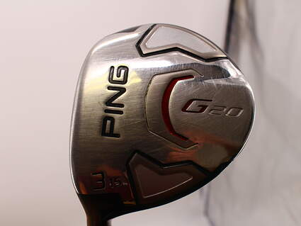 Ping G20 Fairway Wood 3 Wood 3W 15* Ping TFC 169F Graphite Regular Left Handed 42.5 in