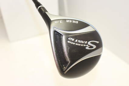 Adams Fast 12 3 Wood 3W 15° Grafalloy ProLaunch Blue 65 Graphite Senior Right Handed 42.25in