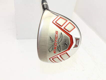 Tour Edge Exotics XCG5 Fairway Wood 7 Wood 7W 21° Fujikura Exotics Blur Graphite Regular Right Handed 41.0in