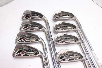 Ping G15 Iron Set 4-PW Dynalite Gold SL S300 Steel Stiff Right Handed 38.0in