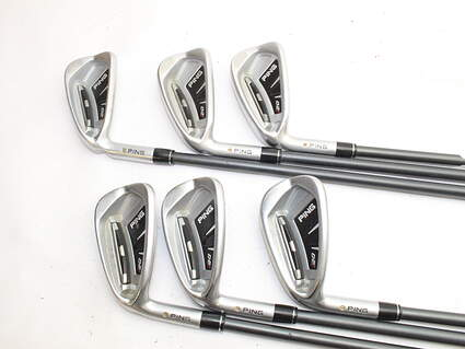Ping I20 Iron Set 5-PW Accra Concept Series CS1 50 Graphite Regular Left Handed 37.0in