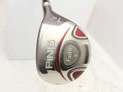 Ping Faith Fairway Wood 7 Wood 7W 26° Ping ULT 200 Ladies Graphite Ladies Right Handed 39.5in