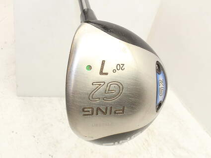 Ping G2 Fairway Wood 7 Wood 7W 20° Ping TFC 100F Graphite Regular Right Handed 42.5in