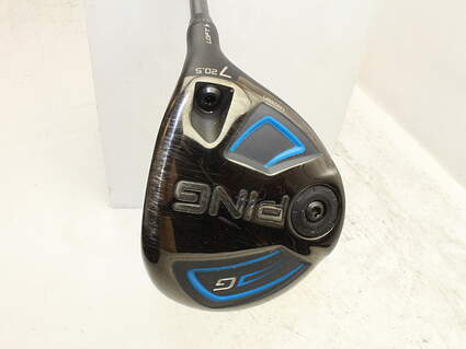 Ping 2016 G Fairway Wood 7 Wood 7W 20.5° ALTA 65 Graphite Soft Regular Right Handed 41.25in